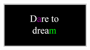 Dare to dream thumbnail