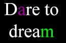 Dare to dream thumbnail second